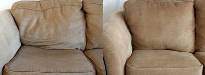 Ο έξυπνος τρόπος για να διορθώσετε έναν καναπέ που έχει «κάτσει», εύκολα και ανέξοδα