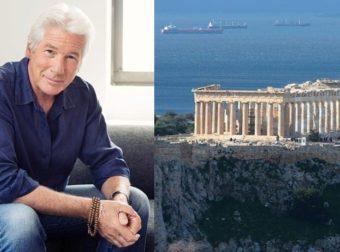 Ο Ρίτσαρντ Γκιρ αποθεώνει τη χώρα μας: «Ποιος μπορεί να μην αγαπά την Ελλάδα; Ολοι έχουμε 1 κομμάτι της μέσα μας»