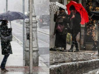 Καιρός Σήμερα : Άστατος με βροχές και πτώση της θερμοκρασίας