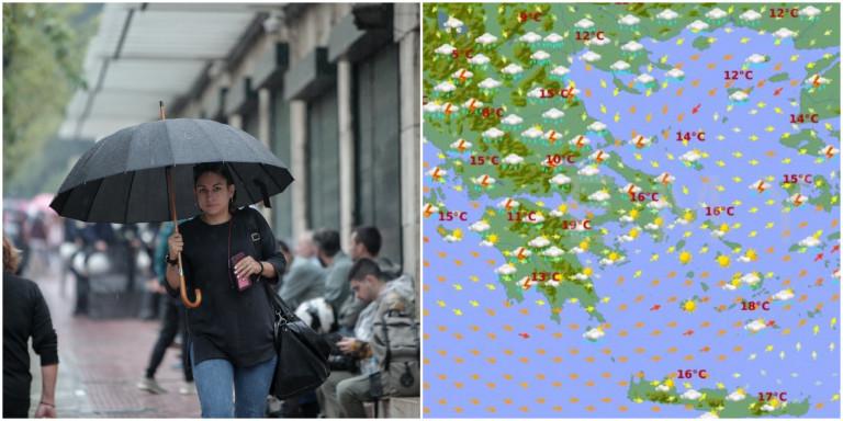 Καιρός: Ψυχρές μάζες φέρνουν επιδείνωση-εξπρές -Πού αναμένονται βροχές την Τσικνοπέμπτη