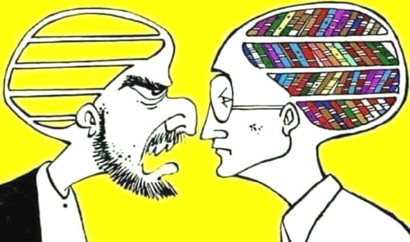 Όσο πιο άδειος ο άνθρωπος τόσο μεγαλύτερο θόρυβο κάνει μιλώντας