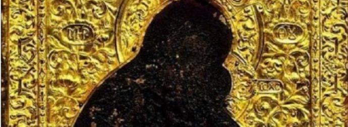 Η θαυματουργή εικόνα της Παναγίας των Χαιρετισμών ή του Ακαθίστου Ύμνου