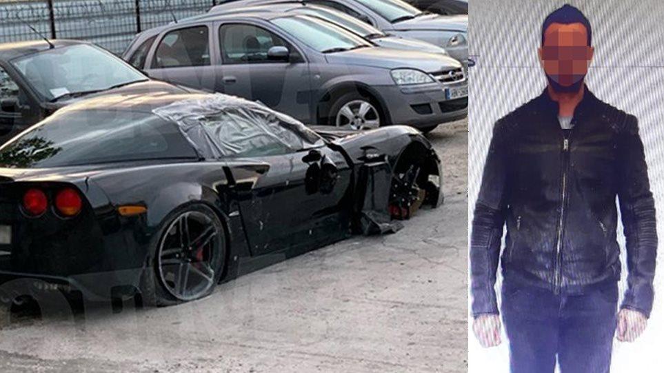 Τροχαίο Γλυφάδα: Δείτε τη φωτογραφία του οδηγού της Corvette – Ανασφάλιστο ήταν το αυτοκίνητο