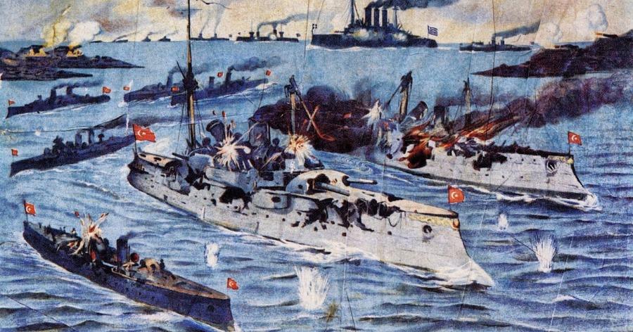 Ναυμαχία της Έλλης: Ο θρίαμβος του ναύαρχου Κουντουριώτη και ο Ελληνικός στόλος που κατατρόπωσε τον τουρκικό