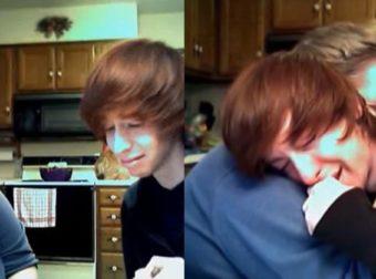Η αντίδραση της μητέρας του όταν της είπε πως είναι γκέι, τον έκανε να ξεσπάσει σε κλάματα
