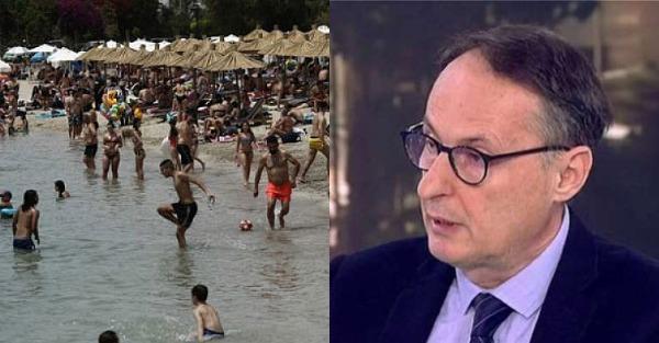 """Νίκος Σύψας: """"Παίζουμε με τη φωτιά, μπορεί ακόμα να σταματήσει και ο τουρισμός"""""""