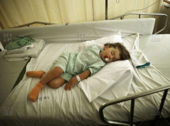 Έκκληση για αίμα και αιμοπετάλια για την 2.5 ετών Κων/να Ελίζα που νοσηλεύεται στην Ογκολογική Μονάδα Παίδων