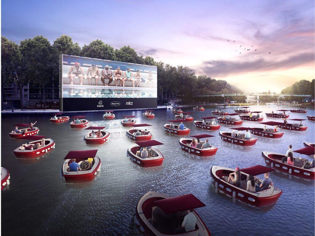 Το πρώτο πλωτό σινεμά με θέα το μαγευτικό Παρίσι ανοίγει στις 18 Ιουλίου