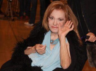 Εσπευσμένα στο νοσοκομείο η Μαίρη Χρονοπούλου – Δύσκολες ώρες για την ηθοποιό