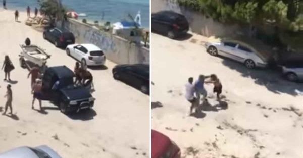 Μπουνιές σε παραλία της Χαλκιδικής – Ιδιοκτήτης βάρκας επιτέθηκε σε λουόμενους γιατί τον εμπόδιζαν