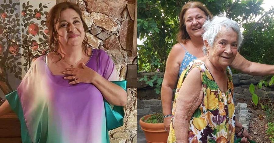 Ελισάβετ Κωνσταντινίδου: Το εντυπωσιακό σπίτι στην Αίγινα, η μαγευτική θέα και η αυλή που μοιάζει παραμυθένια