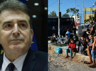 Μιχάλης Χρυσοχοΐδης: «Η Λέσβος θα έχει αδειάσει από πρόσφυγες μέχρι το Πάσχα»
