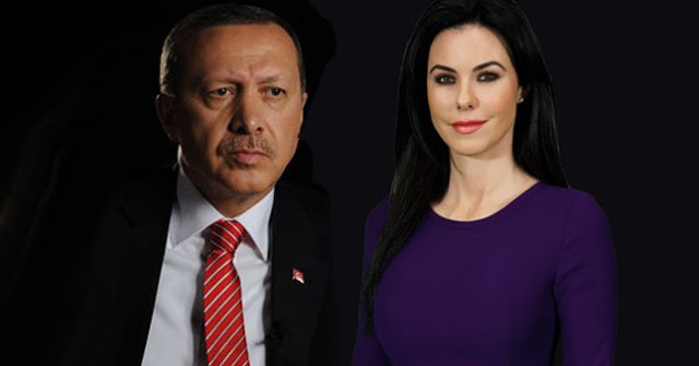 Σάλος με την μελαχρινή καλλονή ερωμένη του ασυγκράτητου Ερντογάν