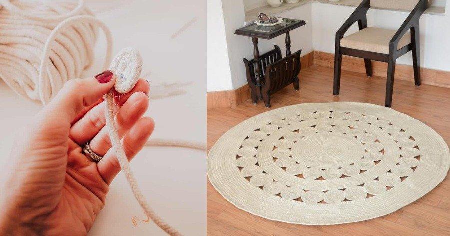 Με λίγο σπάγκο ή σκοινί και ελάχιστα χρήματα μπορείτε να φτιάξετε πανέμορφα διακοσμητικά για το σπίτι