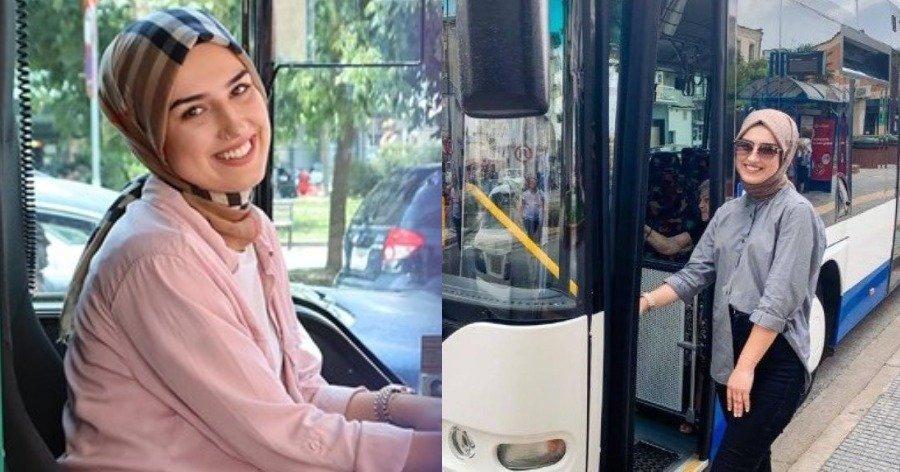 Κομοτηνή: 22χρονη μουσουλμάνα έγινε η πρώτη γυναίκα οδηγός ΚΤΕΛ Ροδόπης και πάει κόντρα στα στερεότυπα