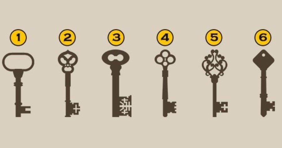 Τεστ προσωπικότητας: Διάλεξε ένα από τα 6 κλειδιά και δες τι φανερώνει για τον χαρακτήρα σου