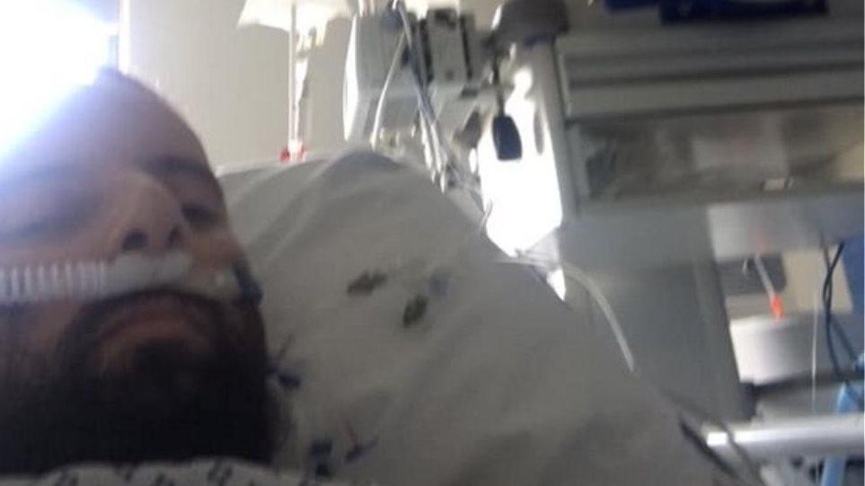 Ο 34χρονος Έλληνας που ξύπνησε από κώμα λόγω του ιού απαντά στους αρνητές