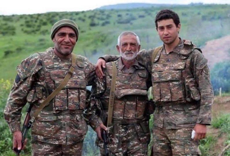 Παππούς, γιός και εγγονός. Τρεις γενιές Αρμενίων στρατιωτών μάχονται για την πατρίδα τους