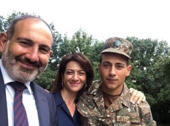Ο γιος του Πρωθυπουργού της Αρμενίας έφυγε για τον πόλεμο