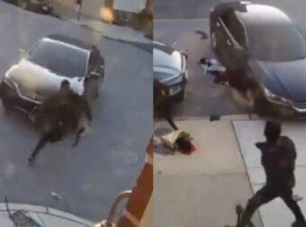 Τσακώθηκαν, τον έβγαλε από το αμάξι, πήγε να τον πατήσει 3 φορές και στο τέλος τον πλάκωσε και στο ξύλο