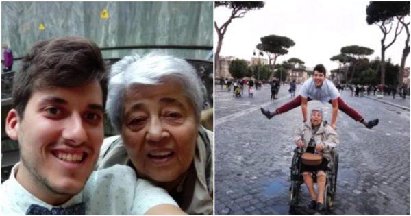 Εγγονός πήρε την 83χρονη γιαγιά του στην Ρώμη γιατί δεν ταξίδεψε εκτός Ελλάδας εδώ και μισό αιώνα