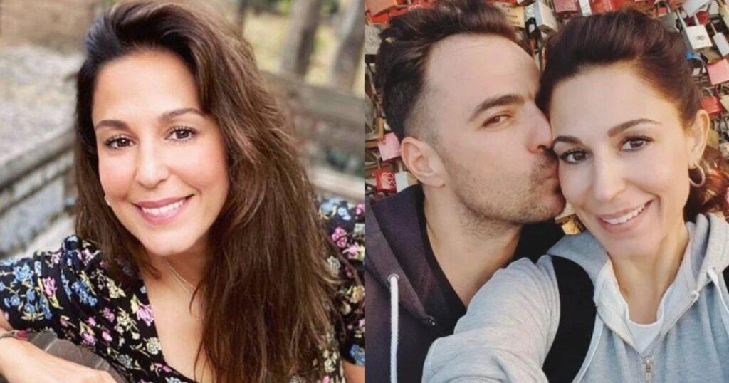 Πιο ερωτευμένη από ποτέ η Κατερίνα Παπουτσάκη: Το παθιασμένο φιλί στην παραλία με τον σύζυγό της